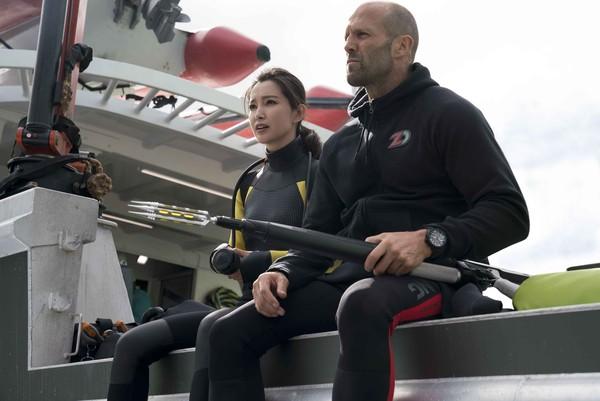 李冰冰拍戏拼命氧气瓶险用完 斯坦森:难怪她会红