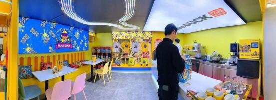 Music DUCK饮品新零售,潮酷奶茶店全新上线