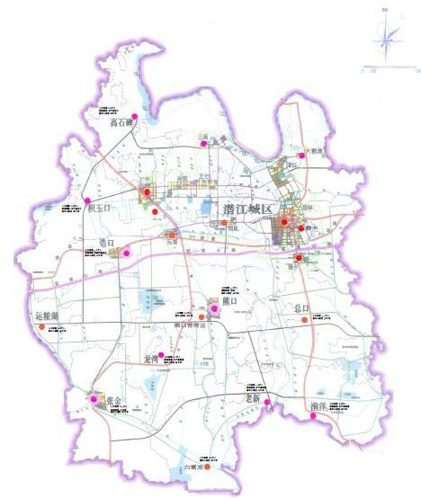 湖北潜江市城市商业网点规划(2013-2020)