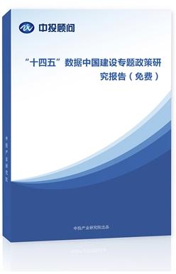 """""""十四五""""数据中国建设专题政策研究报告(免费)"""