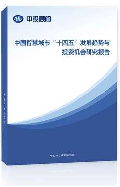 中国智慧城市十三五发展趋势与投资机会研究报告