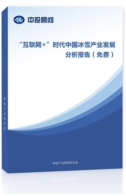 """""""互联网+""""时代中国冰雪产业发展分析报告(免费)"""
