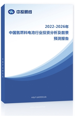 2021-2025年中国氢燃料电池行业投资分析及前景预测报告